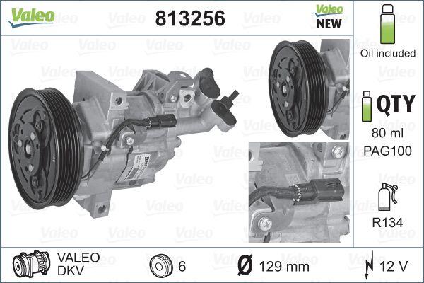 Compresseur VALEO 813256 (X1)