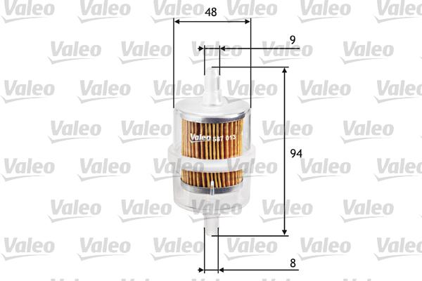 Filtre a carburant VALEO 587013 (X1)