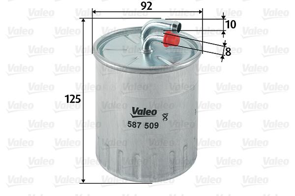 Filtre a carburant VALEO 587509 (X1)
