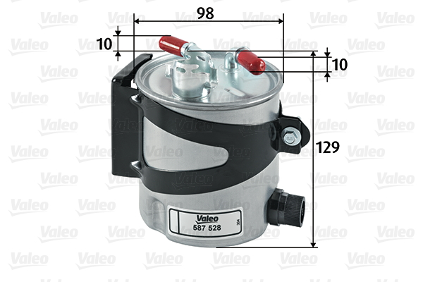Filtre a carburant VALEO 587528 (X1)