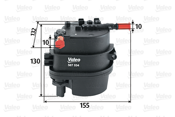 Filtre a carburant VALEO 587534 (X1)