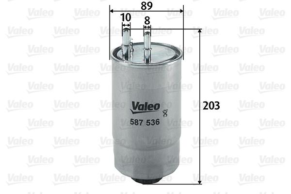 Filtre a carburant VALEO 587536 (X1)