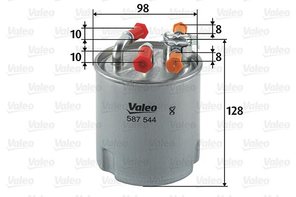 Filtre a carburant VALEO 587544 (X1)