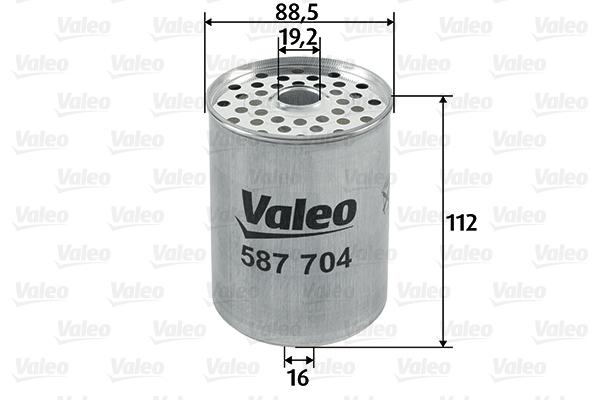 Filtre a carburant VALEO 587704 (X1)