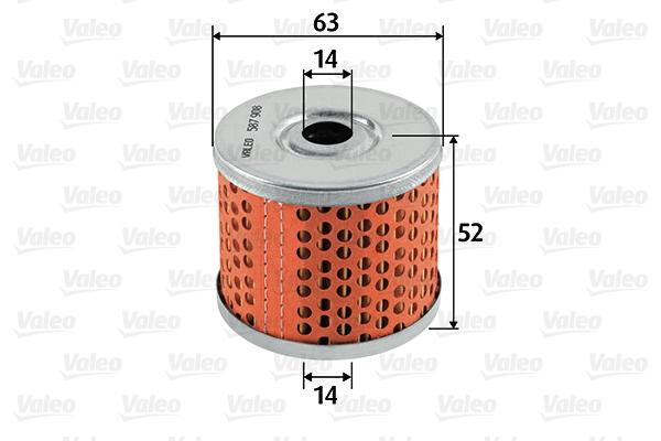 Filtre a carburant VALEO 587908 (X1)