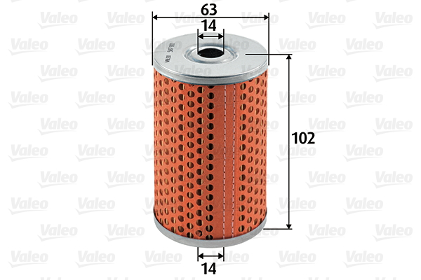 Filtre a carburant VALEO 587911 (X1)