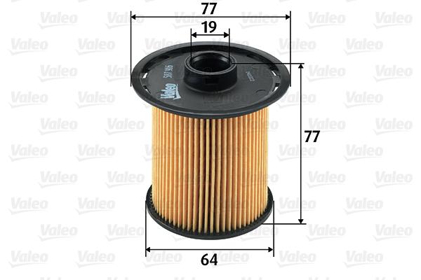Filtre a carburant VALEO 587916 (X1)