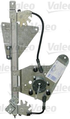 Mecanisme de leve vitre arriere VALEO 850676 (X1)