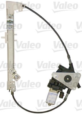 Mecanisme de leve vitre arriere VALEO 850746 (X1)