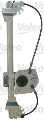 Mecanisme de leve vitre arriere VALEO 850904 (X1)