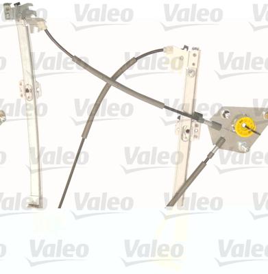Mecanisme de leve vitre VALEO 851047 (X1)