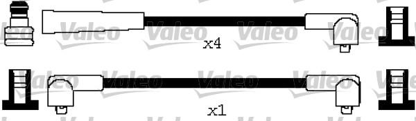 Cable d'allumage VALEO 346631 (X1)