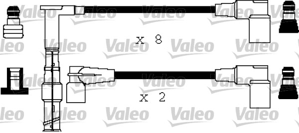 Cable d'allumage VALEO 346375 (X1)