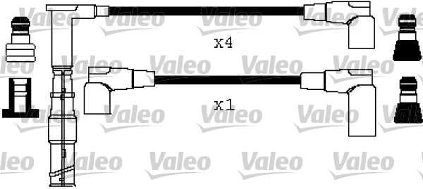 Cable d'allumage VALEO 346361 (X1)