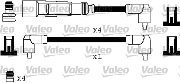 Cable d'allumage VALEO 346332 (X1)