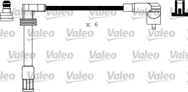 Cable d'allumage VALEO 346178 (X1)