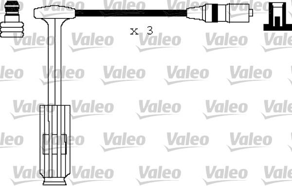 Cable d'allumage VALEO 346146 (X1)