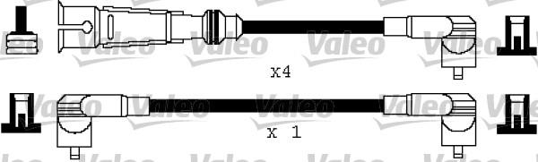 Cable d'allumage VALEO 346112 (X1)