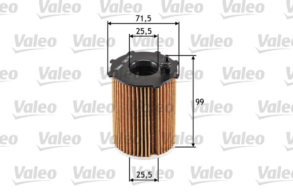Filtre a huile VALEO 586500 (X1)