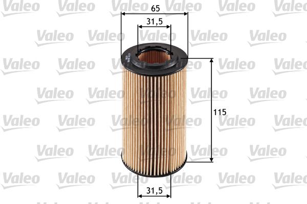 Filtre a huile VALEO 586501 (X1)