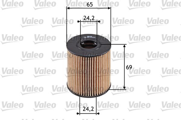 Filtre a huile VALEO 586503 (X1)