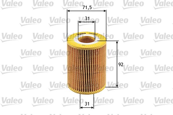 Filtre a huile VALEO 586504 (X1)