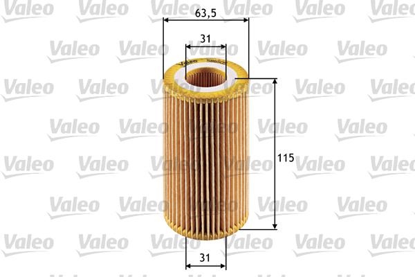 Filtre a huile VALEO 586505 (X1)