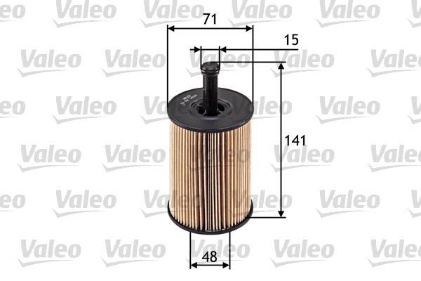 Filtre a huile VALEO 586506 (X1)