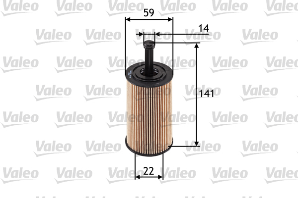 Filtre a huile VALEO 586509 (X1)