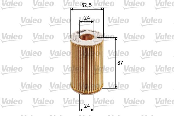 Filtre a huile VALEO 586512 (X1)