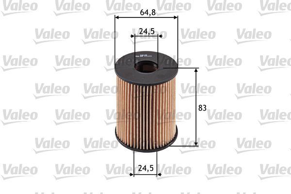 Filtre a huile VALEO 586516 (X1)
