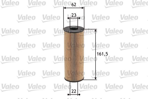 Filtre a huile VALEO 586517 (X1)
