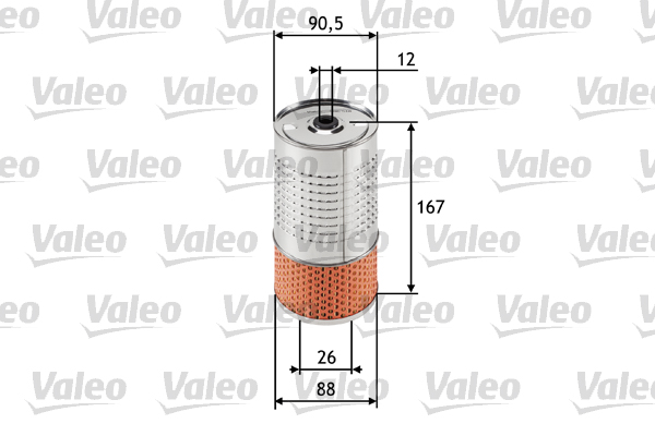 Filtre a huile VALEO 586518 (X1)