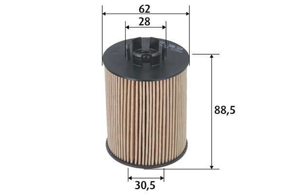 Filtre a huile VALEO 586519 (X1)
