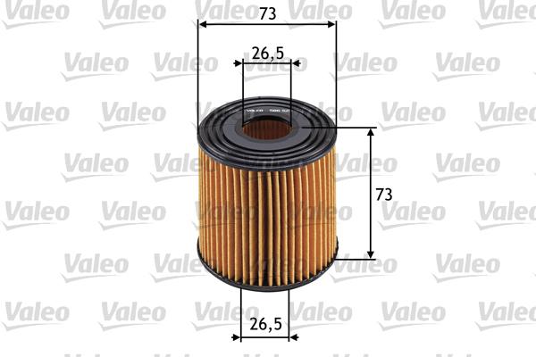 Filtre a huile VALEO 586523 (X1)