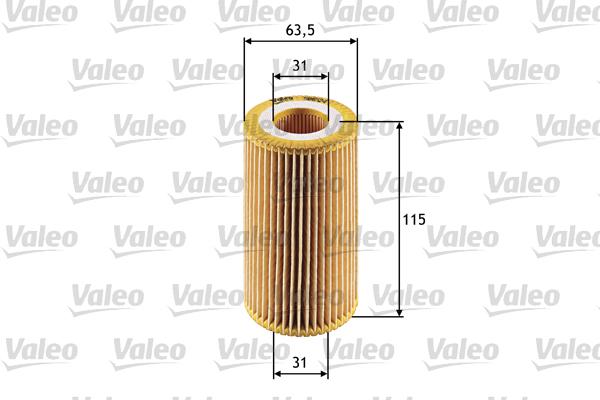 Filtre a huile VALEO 586524 (X1)