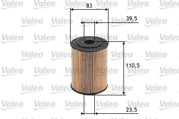 Filtre a huile VALEO 586526 (X1)