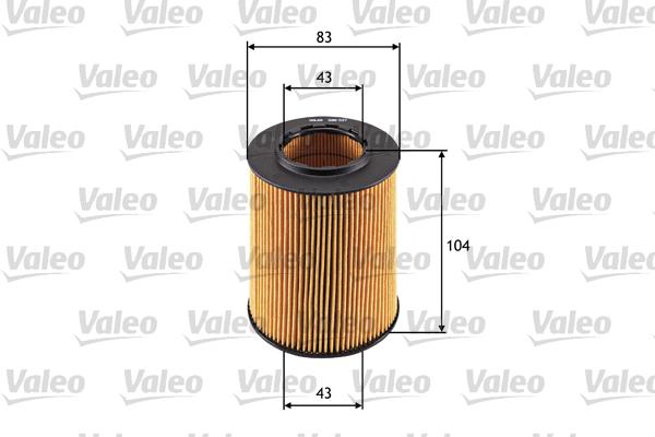 Filtre a huile VALEO 586527 (X1)