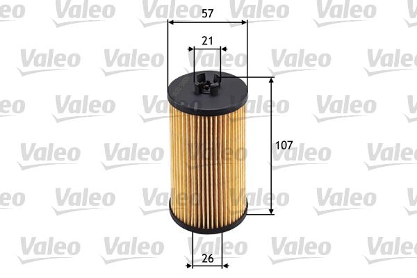 Filtre a huile VALEO 586531 (X1)