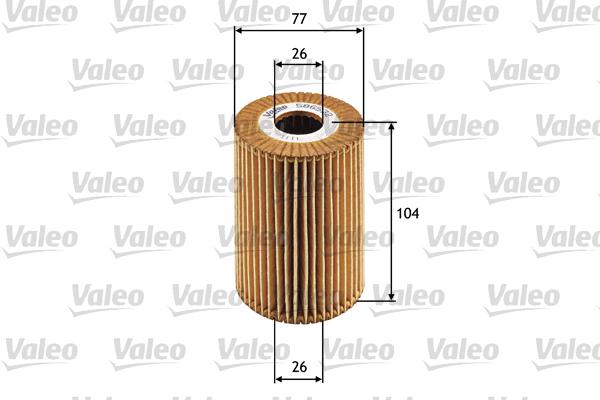 Filtre a huile VALEO 586532 (X1)