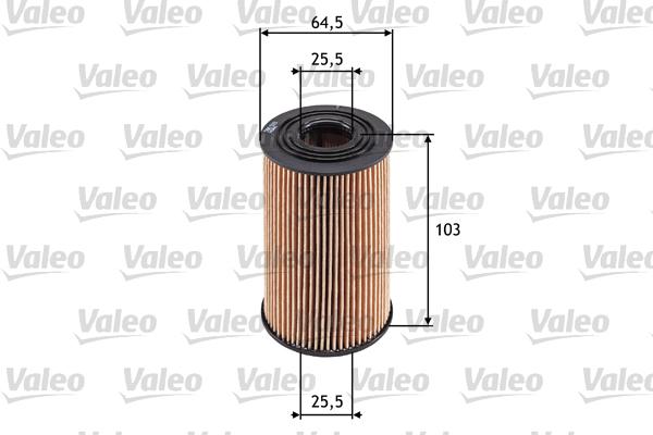 Filtre a huile VALEO 586533 (X1)