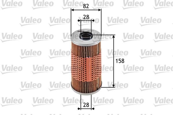 Filtre a huile VALEO 586534 (X1)