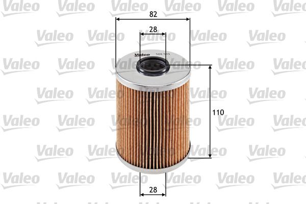 Filtre a huile VALEO 586535 (X1)