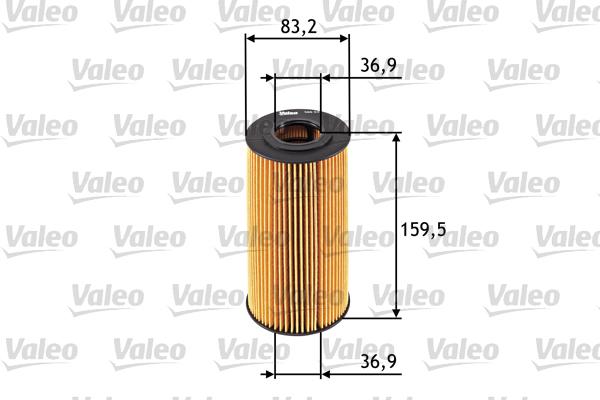 Filtre a huile VALEO 586537 (X1)