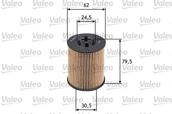Filtre a huile VALEO 586539 (X1)