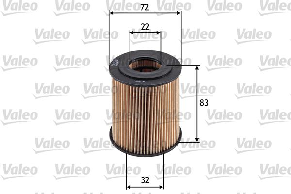 Filtre a huile VALEO 586542 (X1)