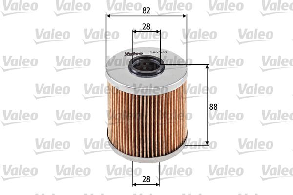 Filtre a huile VALEO 586543 (X1)
