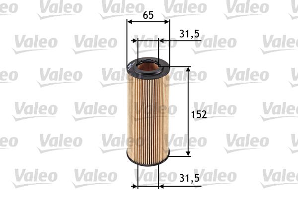 Filtre a huile VALEO 586545 (X1)