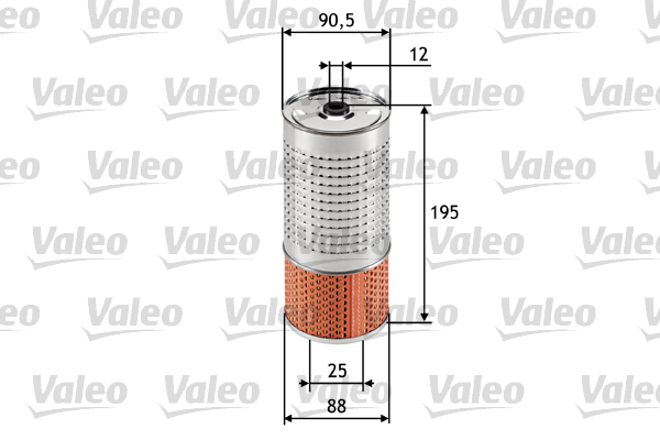 Filtre a huile VALEO 586546 (X1)