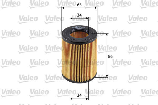 Filtre a huile VALEO 586547 (X1)